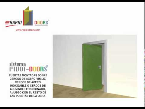 Puertas Pivotantes Rapid Doors