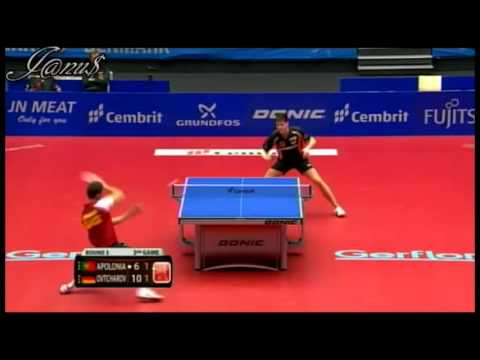 2012 ETTC (ms-R16)  APOLONIA Tiago - OVTCHAROV Dimitrij [Full Match/Short Form]