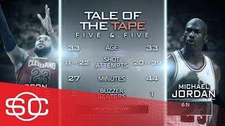 Keith Olbermann weighs in on the Michael Jordan-LeBron James debate   SportsCenter   ESPN