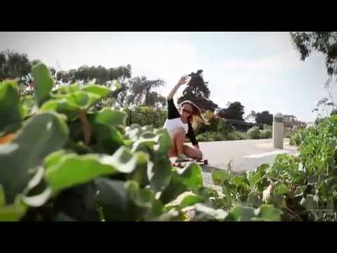 Longboarding Lifestyle through Carlsbad with surfer girl Hannah Swarthout