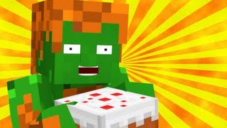 Blanka Makes Pound Cake (Minecraft Animation)