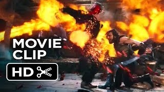 I, Frankenstein Movie CLIP Fire Fight (2014) Aaron