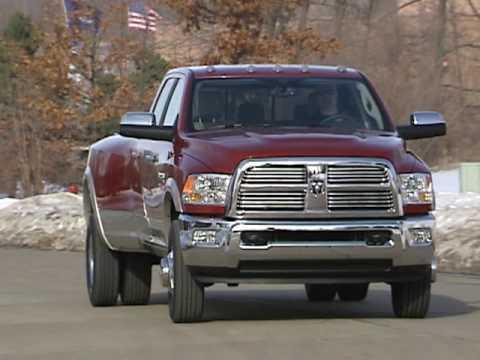 2010 Dodge Ram 3500 Laramie Crew Cab 4X4