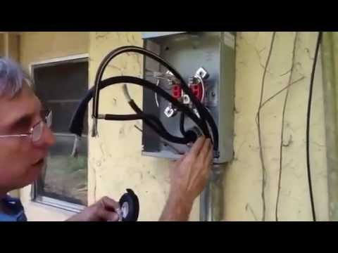 Replacing 200 Amp Main Meter Center