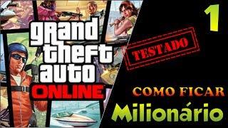 (PS3)GTA V ONLINE GLITCH COMO FICAR RICO VENDENDO CARRO