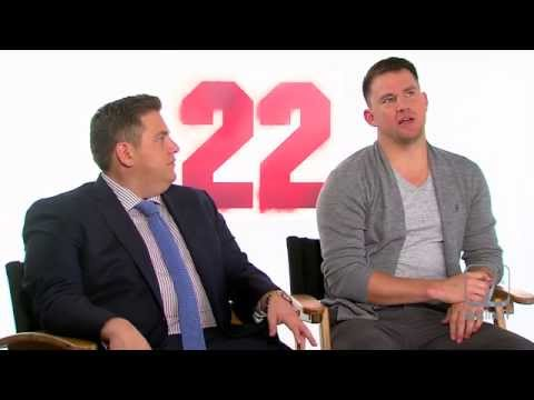 Channing Tatum & Jonah Hill play 'Bromance Game' 22 Jump Street