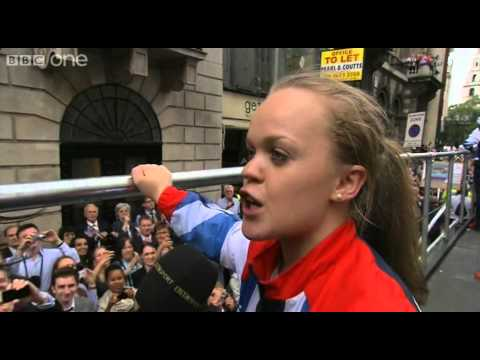 Ellie Simmonds Interview - Our Greatest Team: Athletes' Parade Live - BBC One