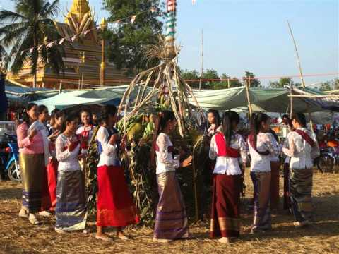 khmerkrom tradition in phreah tropeang