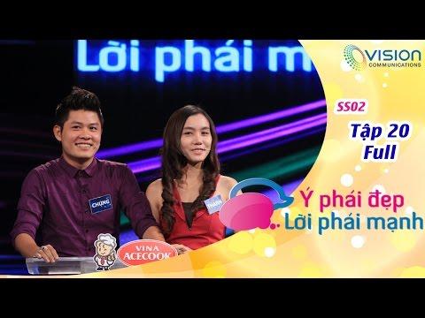 Ý Phái Đẹp Lời Phái Mạnh | HTV | Tập 20 | Thanh Phong - Như Loan | Văn Chung - Kim Thanh | S2