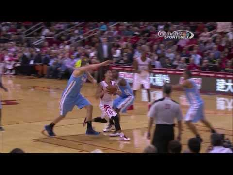 2013/11/16 Jeremy Lin HighLights│Rockets vs. Nuggets│