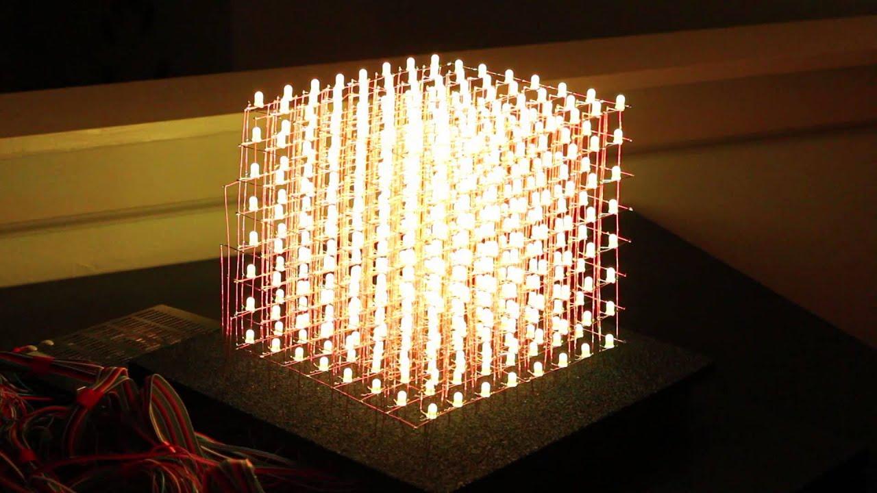 Светодиодный куб своими руками 5х5х5