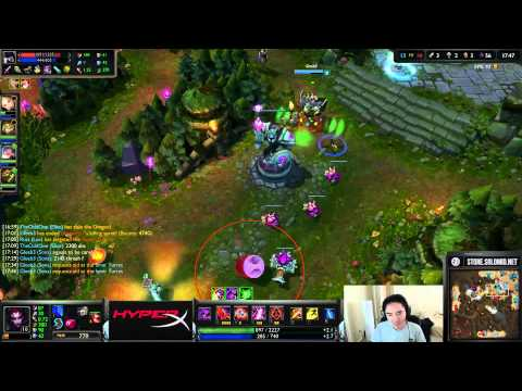 TSM Solo Queue Power Hour, Bjerg/Gleeb/Turtle/Me vs Dyrus