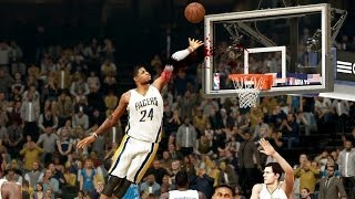 NBA 2K14 Next Gen MyCareer #79 Paul George Breaks His