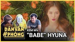 HyunA 현아 - 베베 (BABE) Dân văn phòng xem MV reaction dance cover | Mutex | Kinglive