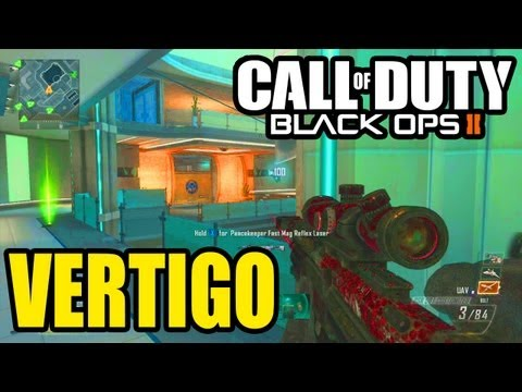 "New ""VERTIGO"" Map Gameplay ""UPRISING"" - Call of Duty Black Ops 2 DLC"
