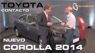 Toyota Corolla 2014 Routière Contacto Nota Con