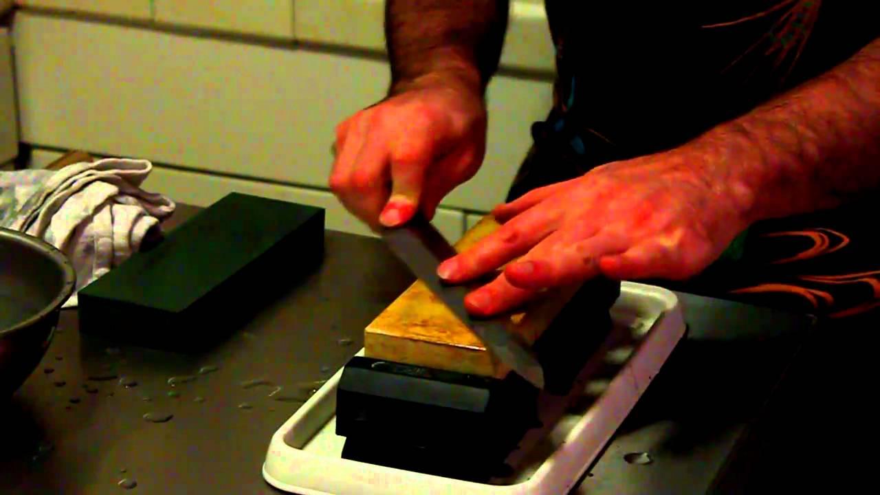 the basics of sharpening single bevel kataba knives japanese knife imports youtube. Black Bedroom Furniture Sets. Home Design Ideas