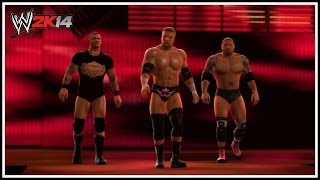 WWE 2K14 Evolution 2014 Entrance!