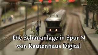 Modellbahn Schauanlage Spur N von Rautenhaus Digital Intermodellbau Dortmund 2015