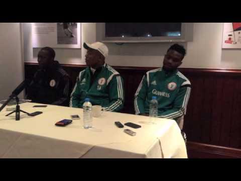 Stephen Keshi - Nigeria V Scotland Post Match Press Conference