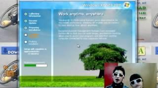 Windows XP SP3 2011 v11.07 Installation Tutorial view on youtube.com tube online.