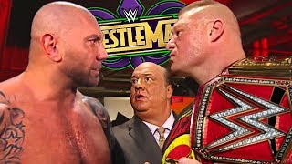 7 WrestleMania 34 Matches WWE Should Book