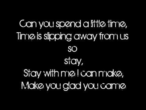 I'm Glad You Came- The Wanted Lyrics