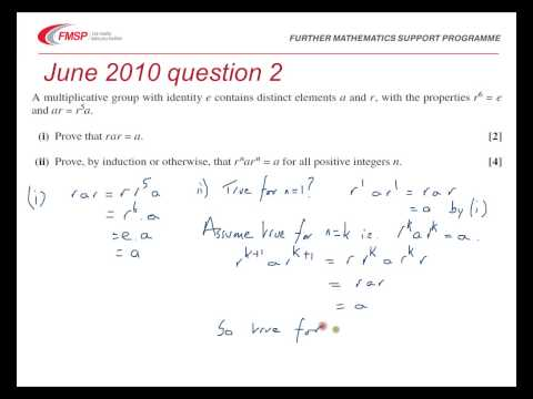 FMSP Revision Video: OCR FP3 - Groups