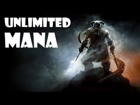 Skyrim - How to get UNLIMITED MANA!