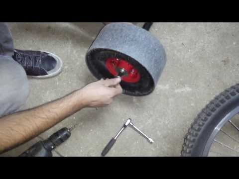 Como se hace un triciclo de trike drift para drifting. (how it's made)