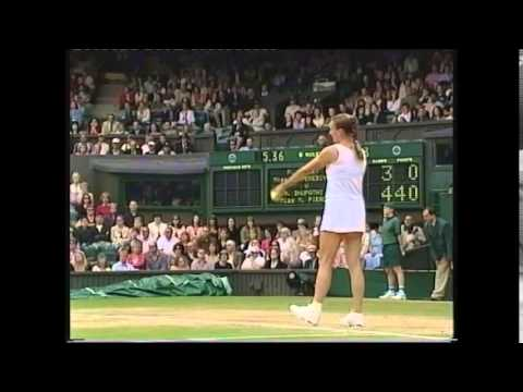 Mary Pierce/Mahesh Bhupathi vs Paul Hanley/ Tatiana Perebiynis Wimbledon Mixed Doubles Final NEW