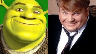 Chris Farley as Shrek   1997 Story Reel and Voices