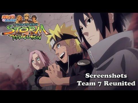 Naruto Shippuden Ultimate Ninja Storm Revolution Team 7 Screenshots