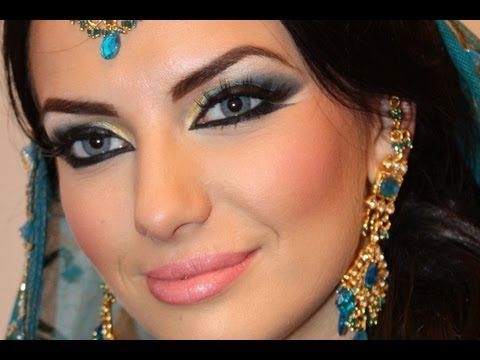 Exotic Arabic Makeup Real Princess Jasmine Makeup  ماكياج العربي