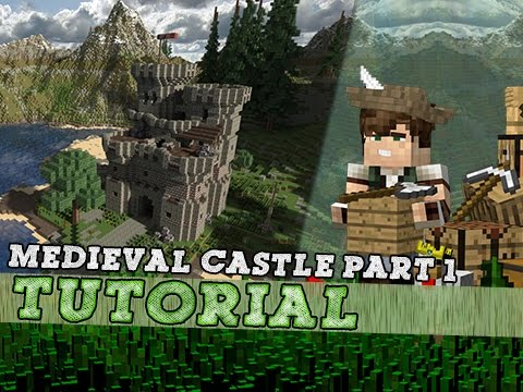 how to build a medieval castle in minecraft
