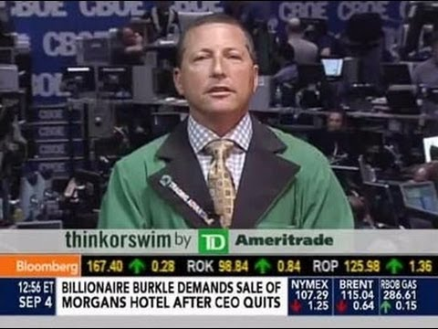 Trading Advantage - Scott Bauer on Bloomberg News - September 4, 2013