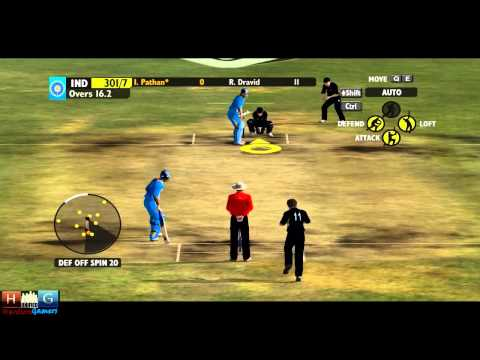 Ashes Cricket™ 2009 : India v/s New Zealand - 25 over ODI match Tournament (Episode #4)