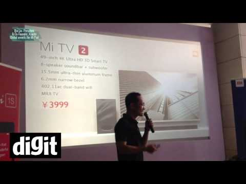 Bin Lin  President & Co Founder,  Xiaomi Global unveils the Mi Pad