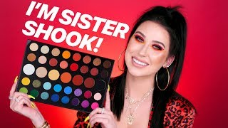 JAMES CHARLES X MORPHE REVIEW + MAKEUP TUTORIAL