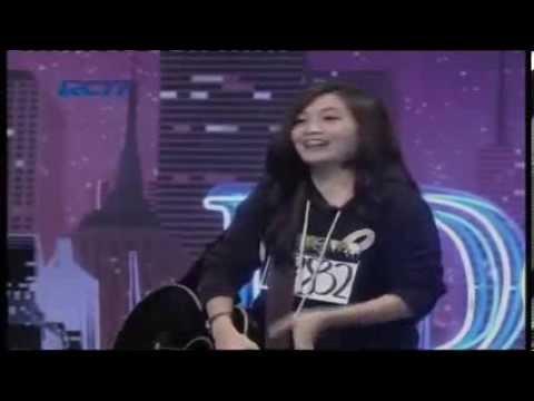 Raden Devita Ayu  - Fix You -  Audisi Jakarta Indonesian Idol 2014 (Manado)