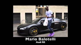 FOOTBALLERS CARS 2011 Messi, Rooney, Nani, Balotelli