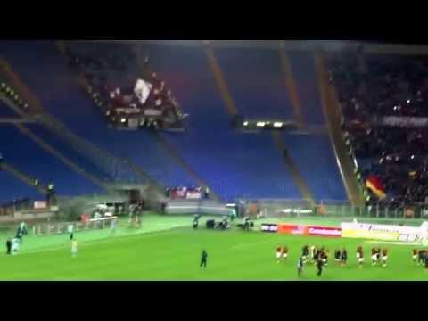 AS Roma - Torino 2-1 - La Roma sotto le curve!