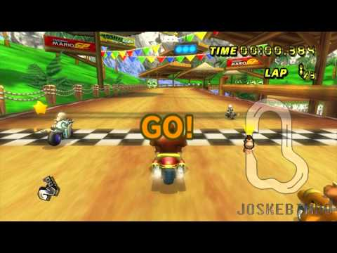 Mario Kart Wii - Dolphin Full Speed (1080p)