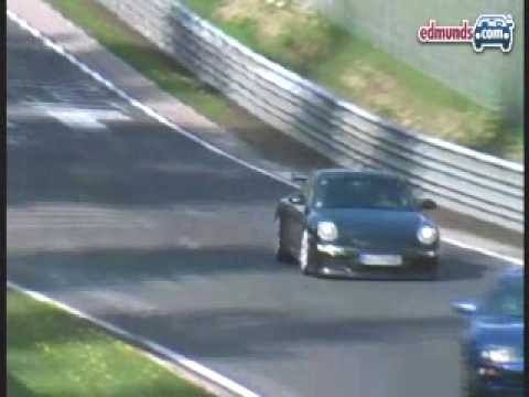 Potent Porsche:  2010 Porsche 911 GT3 Spy Video