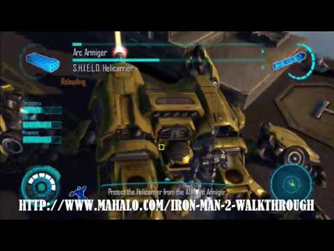 Iron Man 2 Walkthrough - Mission 6: War Machine