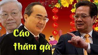 Tội ác man rợ ẩn chứa đằng sau việc TBT Nguyễn Phú Trọng tới tận tư dinh Nguyễn Tấn Dũng chúc tết