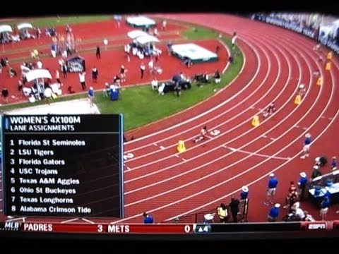 2014 NCAA TRACK & FIELD OUTDOOR CHAMPIONSHIPS & TAMU WOMEN IN 4x100