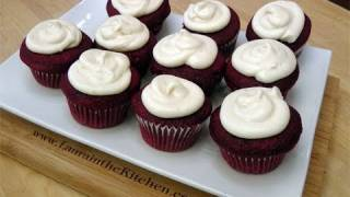 How To Make Red Velvet Cupcakes W/ Cream Cheese Frosting