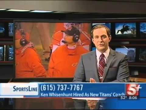 SportsLine: Ken Whisenhunt Named Titans' Coach