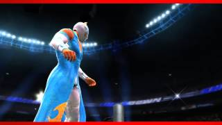 Sin Cara WWE 2K14 Entrance And Finisher (Official)